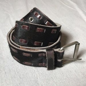 Leather and Hide Belt